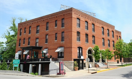 1-Night Stay in a Standard or Deluxe Room at Hotel Frederick in Boonville, MO. Combine Up to 8 Nights.