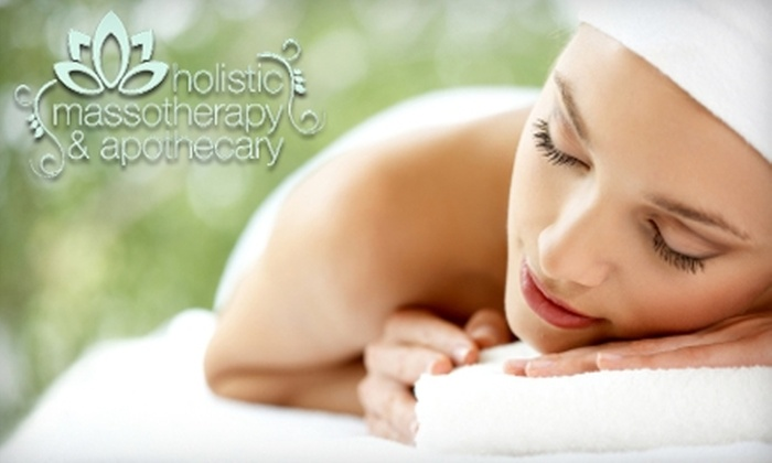 Holistic Massotherapy & Apothecary - Bay Village: $35 for a One-Hour Traditional Thai Massage ($75 Value) or $30 for a One-Hour Therapeutic Deep Tissue Massage ($65 Value) at Holistic Massotherapy & Apothecary