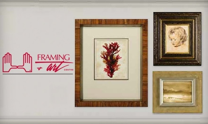 Framing & Art Centre - Central City: $45 for $100 Worth of Custom Framing at Framing & Art Centre