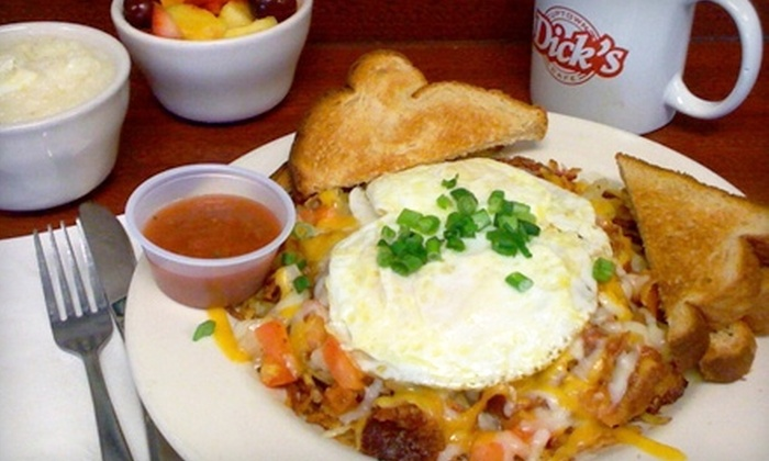 Dick's Uptown Café - Cedar Hill: $6 for $12 Worth of Casual Diner Fare at Dick's Uptown Café in Cedar Hill
