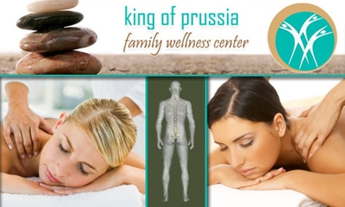 King of Prussia Family Wellness Center - Upper Merion: $80 for Two Deep-Tissue Massages at King of Prussia Family Wellness Center ($160 Value)