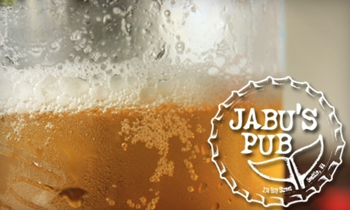 Jabu's Pub - Lower Queen Anne: $10 for $25 Worth of Beer and Pub Fare at Jabu's Pub in Lower Queen Anne