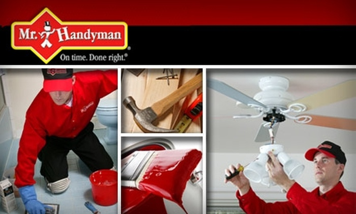 Mr Handyman - Portland: $59 for One Hour of Home Repair Services From Mr. Handyman