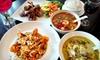 $10 for Fresh Cuisine at Thai Gourmet by Sri Maya in Long Beach