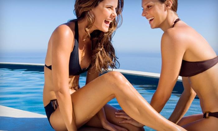 Beau Soleil - Nixa: $40 for Three Airbrush Tans at Beau Soleil ($84 Value)