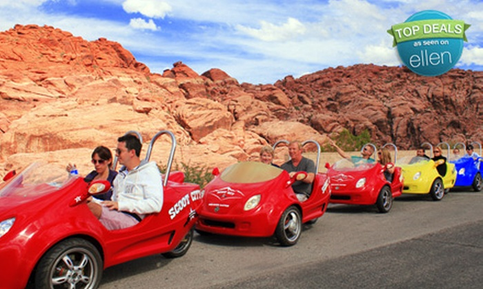 Scoot City Tours - Las Vegas: $125 for a Two-Person Scooter Tour of the Red Rock Canyon with Scoot City Tours ($250 Value)