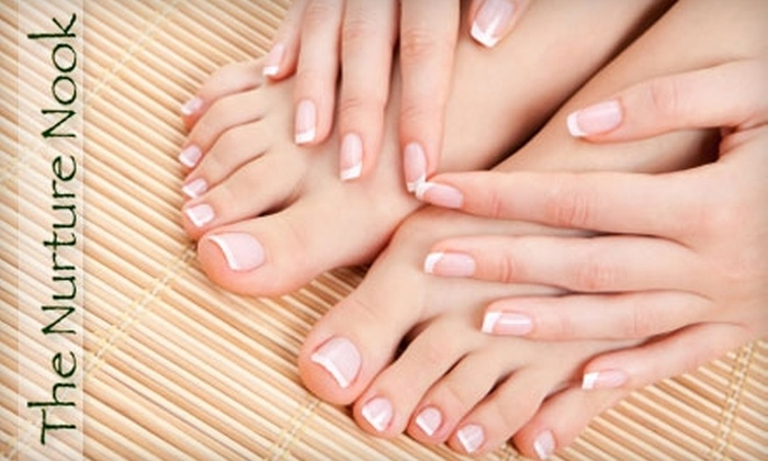 The Nurture Nook - Nashville: $59 for a Deluxe Hand and Foot Therapy with Basic Nail Care at The Nurture Nook Day Spa ($120 Value)