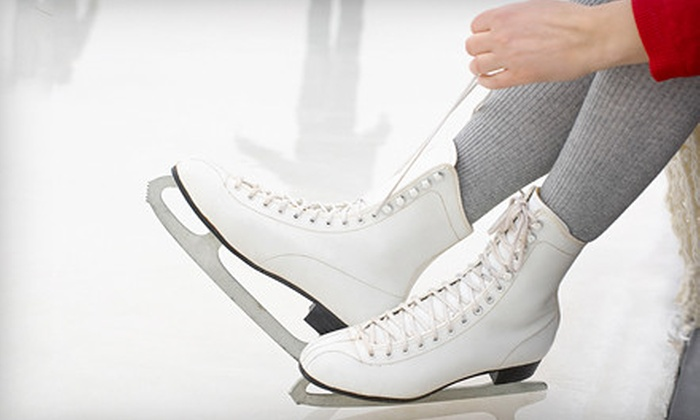 The Gardens Ice House - West Laurel: Ice Skating for Two or Four, or 10-Session Skater Pass at The Gardens Ice House in Laurel (Up to 54% Off)