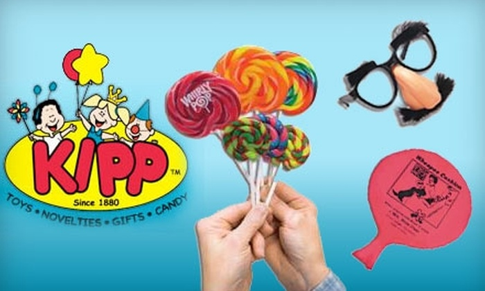 Kipp Brothers Toys and Novelties - Clay: $10 for $25 Worth of Toys, Party Supplies, Candy, and More at Kipp Brothers Toys and Novelties