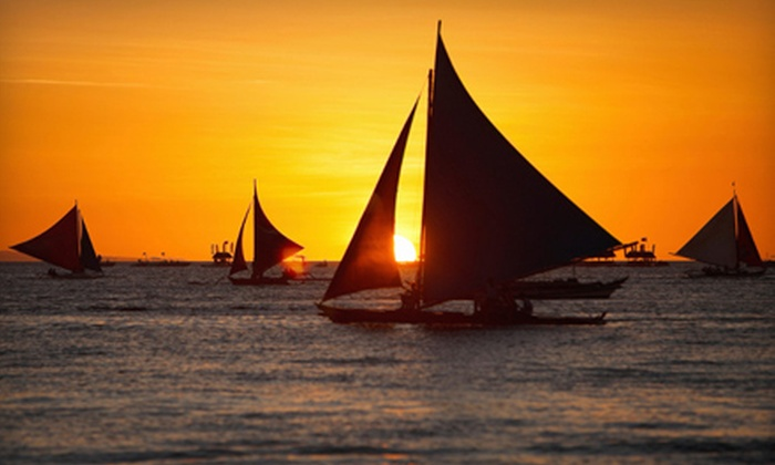Resort Watersports - Bahia Hotel: $25 for a Sailing Outing with a Sailing Lesson and Sailboat Rental for Two from Resort Watersports ($60 Value)