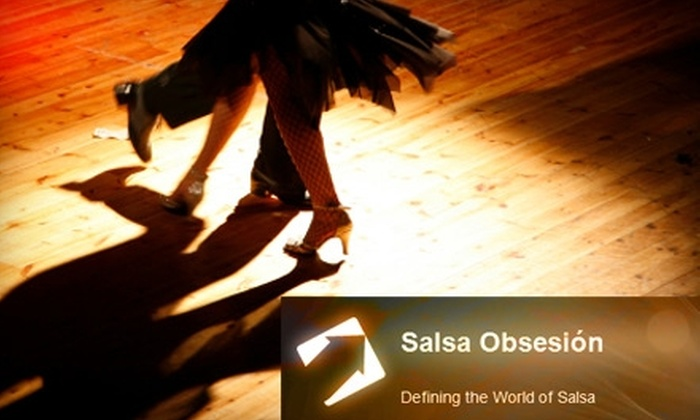 The Latin Palace - Locust Point: $10 for Two Salsa Dance Classes at The Latin Palace ($20 Value)