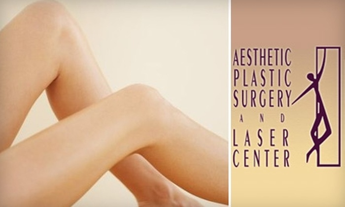 Aesthetic Plastic Surgery and Laser Center - Farmington: $149 for Two Laser Spider Vein Treatments at Aesthetic Plastic Surgery and Laser Center in Farmington Hills (Up to $800 Value)