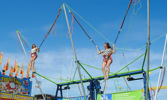 Aloha Joe's Bungee Extreme - Inland Empire: $499 for a Two-Hour Bungee Trampoline Rental for Up to Four from Aloha Joe's Bungee Extreme ($799 Value)