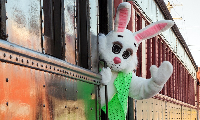 The Colebrookdale Railroad - Boyertown: Easter Bunny Express Railroad Ride from The Colebrookdale Railroad (Up to 33% Off). Two Options Available.