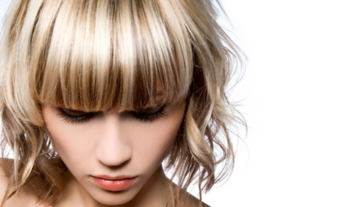 Designer Hair and Beauty - Designer Hair and Beauty: Highlights With Cut and Condition from £26 at Designer Hair and Beauty
