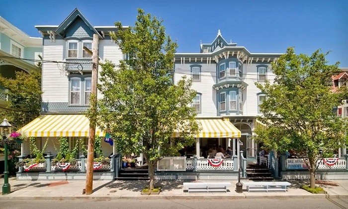 Carroll Villa Hotel - Cape May, NJ: One- or Two-Night Stay with Wine and Options for Wine Tasting and Drinks at Carroll Villa Hotel in Cape May, NJ