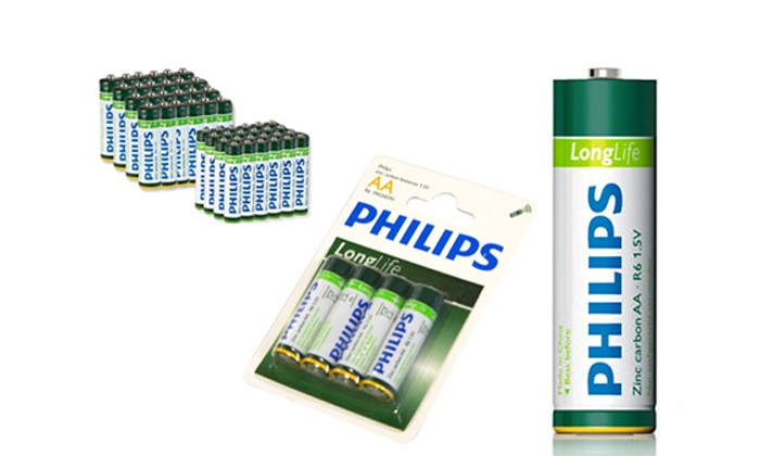 BCR: Phillips AA and AAA Batteries from R169 Including Delivery (Up to 69% Off)