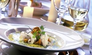 LA BARCHESSA (Due Carrare): Menu di pesce con 4 antipasti e un litro di Prosecco per 2 o 4 persone da La Barchessa (sconto fino a 70%)