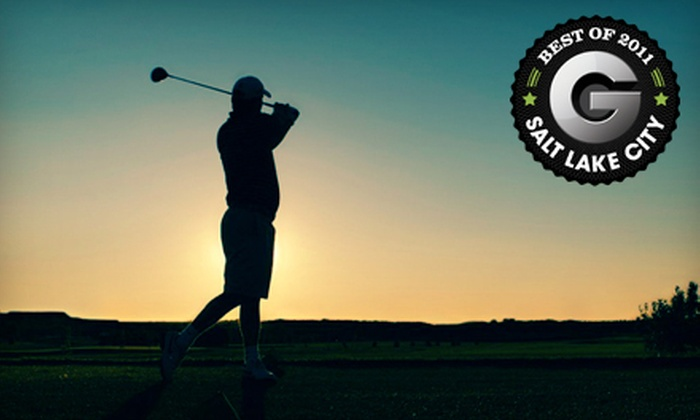 Mulligans Golf and Games - Springhill: Three Rounds of Golf for One or a Mini-Golf Outing for Four at Mulligans Golf and Games in South Jordan (Up to 51% Off)