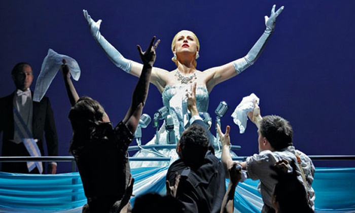 """Evita"" - The Lower Ossington Theatre: Tony Award-Winning ""Evita"" On Stage  in Toronto on October 16–November 13 (Up to 37% Off)"