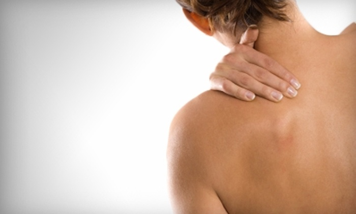 Spokane Laser  - Spokane Valley: $20 for Cold-Laser Therapy with a Shoulder and Neck Massage at Spokane Laser in Spokane Valley ($40 Value)