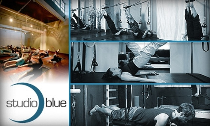 Studio Blue Pilates - Northwest District: $42 for One Private Pilates Class and Five Mat Classes at Studio Blue ($125 Value)