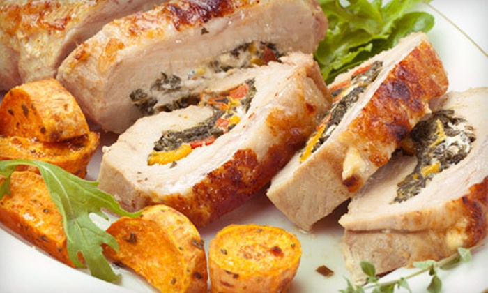 Prepared Catering - Northwest: Catered Fare from Prepared Catering (Half Off). Two Options Available.