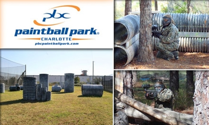 Paintball Central - Rock Hill: $22 for All-Day Entry, Equipment, Unlimited Air, and 500 Paintballs at Paintball Central in Rock Hill ($44 Value)