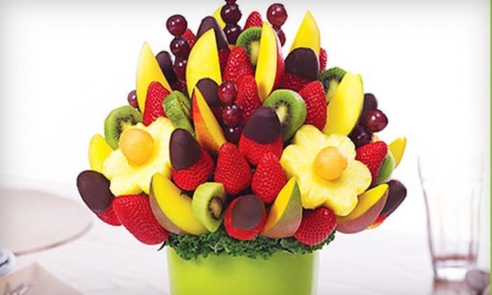 Edible Arrangements  - Downtown St. Louis: Fruit Bouquets and Chocolate-Dipped Fruit at Edible Arrangements. Three Options Available.