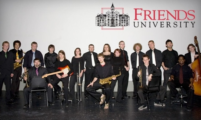 Friends University - Delano: $4 for One Ticket to Live Jazz Performances at Friends University's Sebits Auditorium. Choose from Three Concerts.
