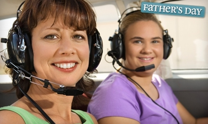 Above All Aviation - Santa Barbara: $129 for a Three-Person Flight Tour from Above All Aviation ($259 Value)