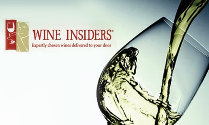 Wine Insiders - San Jose: $25 for $75 Worth of Wine from Wine Insiders' Online Store