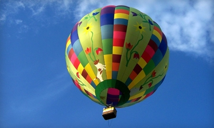 Air Ventures Hot Air Balloon Flights - West Vincent: $149 for a Souvenir Flight Package from Air Ventures Hot Air Balloon Flights in Glenmoore ($249 Value)