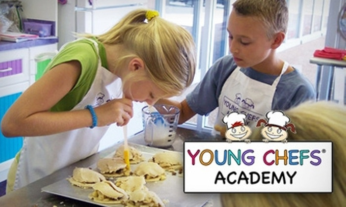 Young Chefs Academy - Oak Creek: $15 for One Cooking Class ($30 Value) or $59 for One Month Chef Club Membership ($134 Value) at Young Chefs Academy