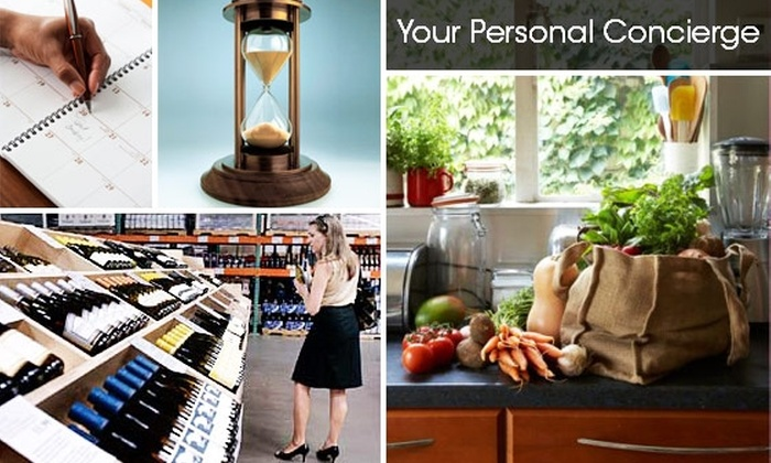 Your Personal Concierge  - San Diego: $49 for Three Hours of Personal-Assistant Services from Your Personal Concierge ($147 Value)