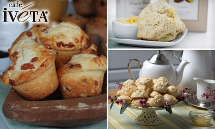 Café Iveta - Westside: $7 for $15 Worth of Scones, Muffins, and Other Baked Goods at Café Iveta