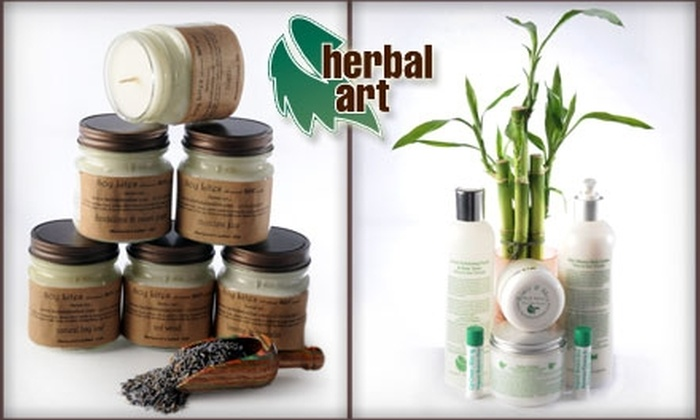 Herbal Art - Downtown Fishers: $18 for $40 Worth of Skincare Products from Herbal Art in Fishers (or $50 If Redeemed In-Store)