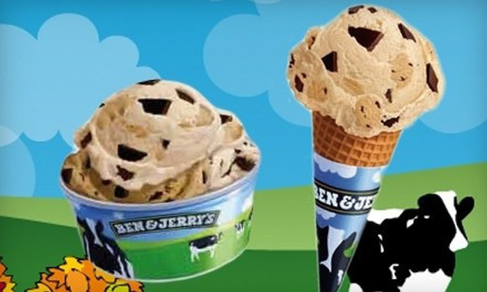 Ben & Jerry's - Multiple Locations: $6 for $12 Worth of Ice Cream and Frozen Treats at Ben & Jerry's