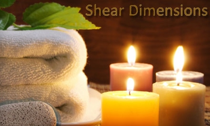 Shear Dimensions - Cranston: Spa and Beauty Treatments at Shear Dimensions Salon. Choose from Four Treatments.