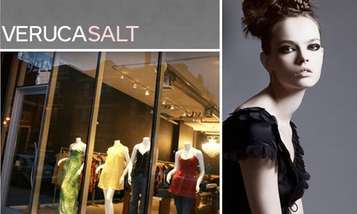 Veruca Salt - Bucktown: $50 for a $100 Groupon to Veruca Salt Boutique