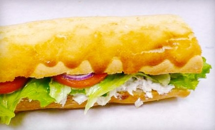 $10 Groupon to Too Fat Sandwiches - Too Fat Sandwiches in Bakersfield