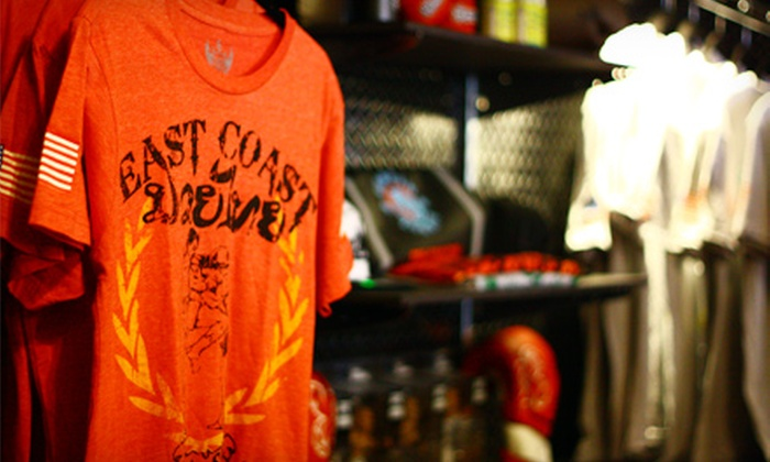 East Coast MMA Fight Shop - Rockville Centre: $15 for $30 Worth of Mixed-Martial-Arts Gear and Clothing at East Coast MMA Fight Shop in Rockville Centre