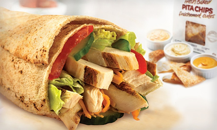 Extreme Pita - Orland Park: $8 for $16 Worth of Pita Sandwiches, Flat-Baked Pitas, Salads, Soups, and Drinks at Extreme Pita in Orland Park