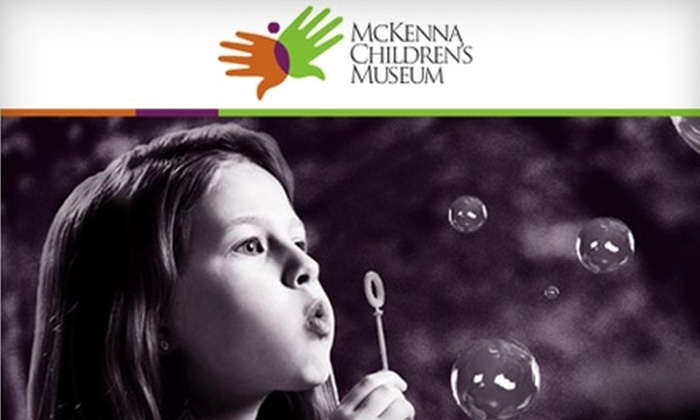 McKenna Children's Museum - New Braunfels: $10 for Admission for up to Four at McKenna Children's Museum