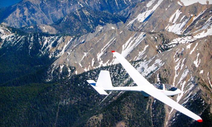 Vancouver Island Soaring Centre - Port Alberni: $134 for a 30-Minute Glider Ridge Flight and Souvenir HD Video Coverage from Vancouver Island Soaring Centre ($245 Value)