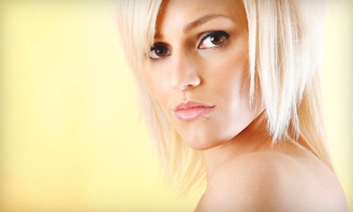 Boujis Salon & Spa - McCormick Ranch: $49 for a Haircare Package at Boujis Salon & Spa in Scottsdale ($100 Value)