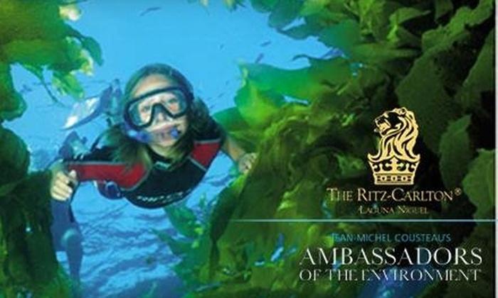 Ambassadors of the Environment at The Ritz-Carlton, Laguna Niguel - Dana Point: $40 for Ambassadors of the Environment Program at The Ritz-Carlton, Laguna Niguel