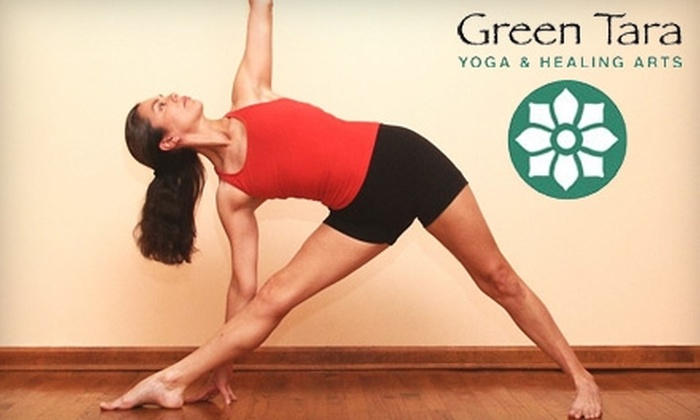 Green Tara Yoga & Healing Arts - Cleveland Heights: $15 for Any Two Regular Weekly Yoga Classes at Green Tara Yoga & Healing Arts