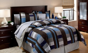 8-piece Contemporary Bedding Sets With Sheets