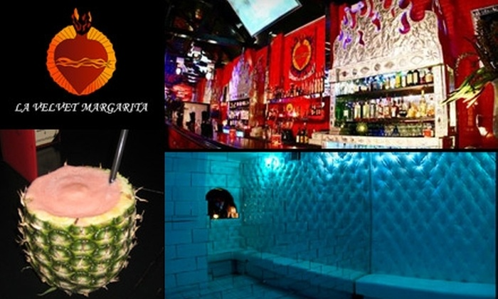 La Velvet Margarita Cantina - Hollywood: $30 for $60 Worth of Mexican Cuisine and Drinks at La Velvet Margarita Cantina